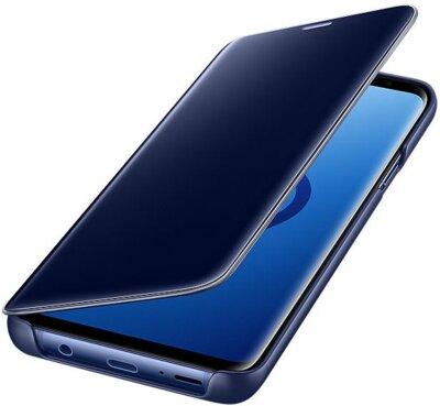 Чохол Samsung Clear View Standing Cover Blue для Galaxy S9+ G965 4