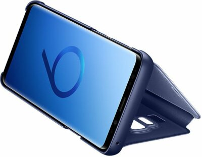 Чохол Samsung Clear View Standing Cover Blue для Galaxy S9+ G965 5