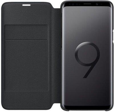 Чехол Samsung LED View Cover Black для Galaxy S9 G960 3