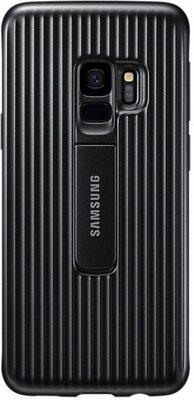 Чехол Samsung Protective Stadning Cover Black для Galaxy S9 G960 1