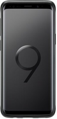 Чехол Samsung Protective Stadning Cover Black для Galaxy S9 G960 3
