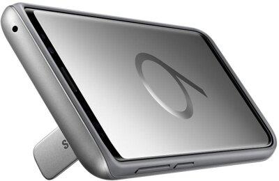 Чехол Samsung Protective Stadning Cover Silver для Galaxy S9 G960 4