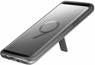 Чехол Samsung Protective Stadning Cover Silver для Galaxy S9 G960 5