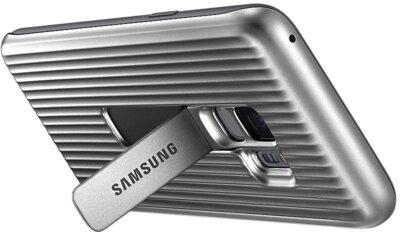 Чехол Samsung Protective Stadning Cover Silver для Galaxy S9 G960 7