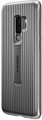 Чохол Samsung Protective Stadning Cover Silver для Galaxy S9+ G965 2