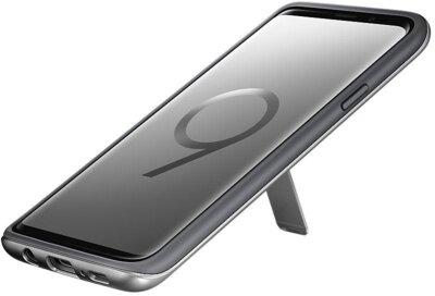 Чохол Samsung Protective Stadning Cover Silver для Galaxy S9+ G965 5