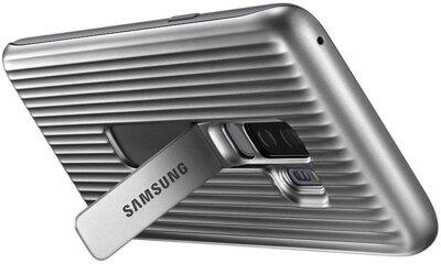 Чохол Samsung Protective Stadning Cover Silver для Galaxy S9+ G965 7