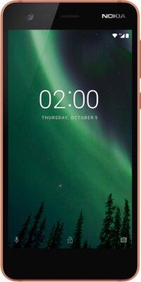 Смартфон Nokia 2 DS Cooper Black 1
