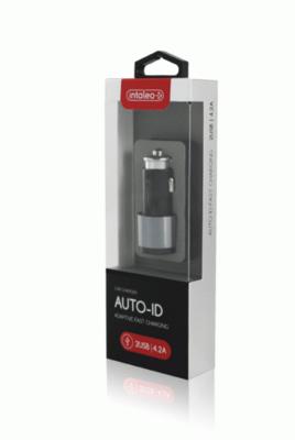 Автомобільний зарядний пристрій Intaleo CCG422 (2USB4,2A) Black 2