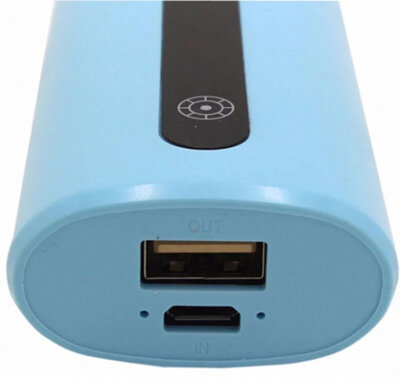 Мобильная батарея Proda E5 Power Box 5000mAh Blue 3