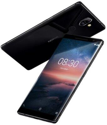 Смартфон Nokia 8 Sirocco Black 5