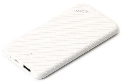 Мобільна батарея Nomi F050 5000mAh White 2