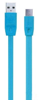 USB Кабель Remax Full Speed RC-001m microUSB Blue 2m 1