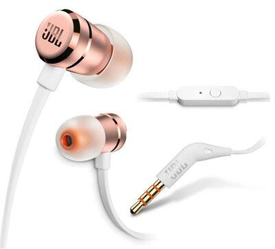 Навушники JBL T290 Rose Gold 4
