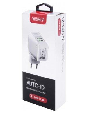Зарядний пристрій Intaleo TCA242 (2USB2,4A) White 5