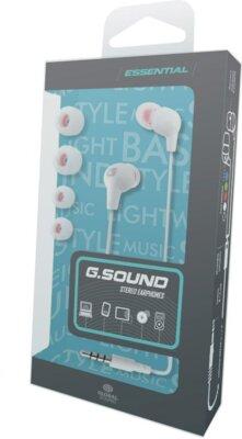 Наушники Global G.Sound A0064WtM White 2