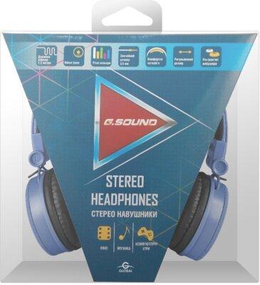 Навушники G.Sound D5079Bl Blue 3