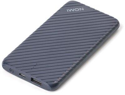 Мобильная батарея Nomi F050 5000mAh Blue 2