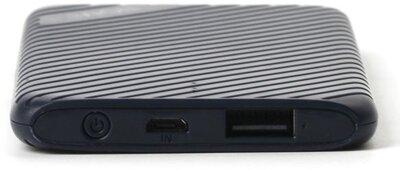 Мобильная батарея Nomi F050 5000mAh Blue 3