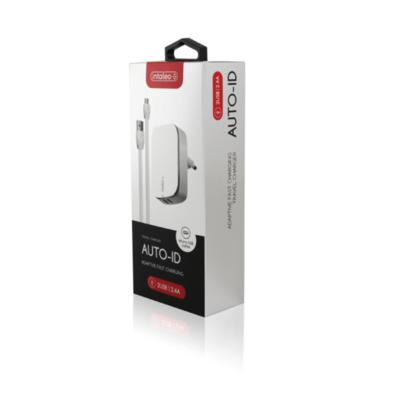 Зарядний пристрій Intaleo TCG242 (2USB2,4A) з кабелем Micro USB White 3