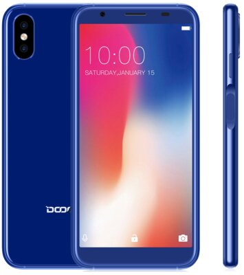 Смартфон Doogee X55 Blue 3