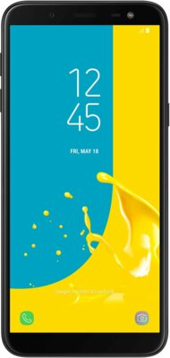 Смартфон Samsung Galaxy J6 SM-J600F Black 1