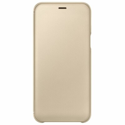 Чохол Samsung Wallet Cover для Galaxy A6 A600 Gold 3
