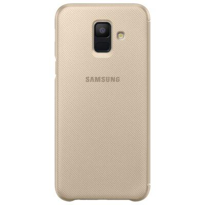 Чохол Samsung Wallet Cover для Galaxy A6 A600 Gold 4