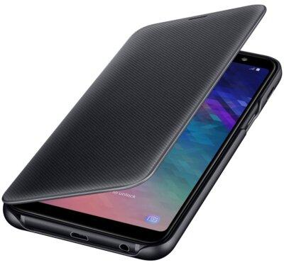 Чехол Samsung Wallet Cover для Galaxy A6+ A605 Black 1