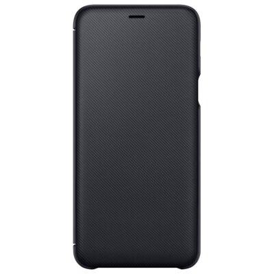 Чехол Samsung Wallet Cover для Galaxy A6+ A605 Black 3