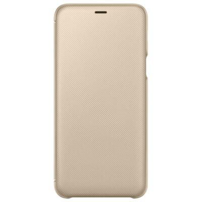 Чехол Samsung Wallet Cover для Galaxy A6+ A605 Gold 3