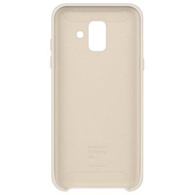 Чехол Samsung Dual Layer Cover для Galaxy A6 A600 Gold 2