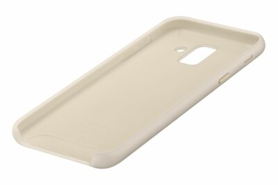 Чехол Samsung Dual Layer Cover для Galaxy A6 A600 Gold 4