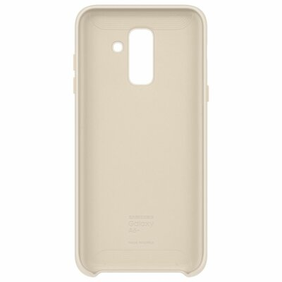 Чехол Samsung Dual Layer Cover для Galaxy A6+ A605 Gold 2