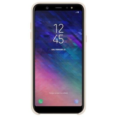 Чехол Samsung Dual Layer Cover для Galaxy A6+ A605 Gold 5