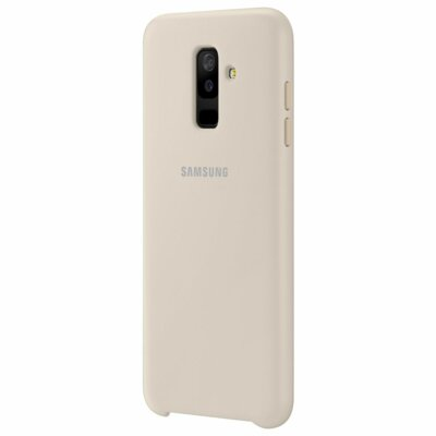 Чехол Samsung Dual Layer Cover для Galaxy A6+ A605 Gold 6