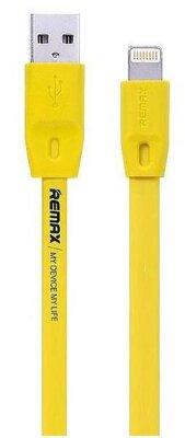 USB Кабель Remax Full Speed RC-001i iPhone 6 Yellow 2m 2