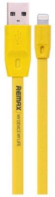 USB Кабель Remax Full Speed RC-001i iPhone 6 Yellow 2m 1
