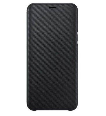 Чохол Samsung Wallet Cover для Galaxy J6 J600 Black 3