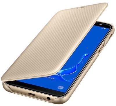 Чохол Samsung Wallet Cover для Galaxy J6 J600 Gold 1