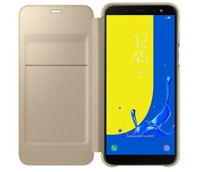 Чохол Samsung Wallet Cover для Galaxy J6 J600 Gold 2
