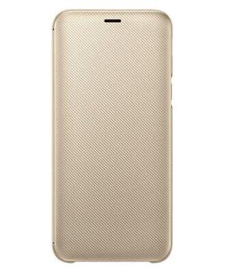 Чохол Samsung Wallet Cover для Galaxy J6 J600 Gold 3