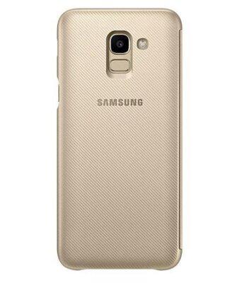 Чохол Samsung Wallet Cover для Galaxy J6 J600 Gold 4