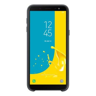 Чехол Samsung Dual Layer Cover для Galaxy J6 J600 Black 2