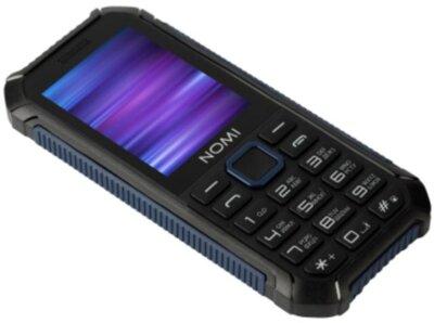 Мобільний телефон Nomi i245 X-Treme Black-Blue 3