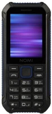 Мобільний телефон Nomi i245 X-Treme Black-Blue 1