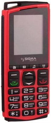 Мобильный телефон Sigma Comfort 50 Mini4 red-black 1