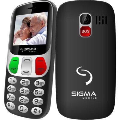 Мобільний телефон Sigma Comfort 50 Retro black 3