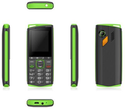Мобильный телефон Sigma Comfort 50 Mini4 black-green 3