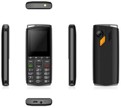 Мобільний телефон Sigma Comfort 50 Mini4 black-grey 3